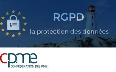 Conférence RGPD – CPME 29 / Tech Iroise Saint-Renan