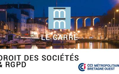 Droit des sociétés – CCIMBO et Club Entreprises du Pays de Morlaix