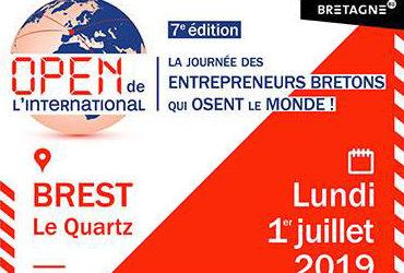 Le Cabinet sera présent lundi 1er juillet à l'Open de l'International à Brest
