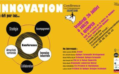 Matinale de l'innovation – Conférence des entrepreneurs bretons